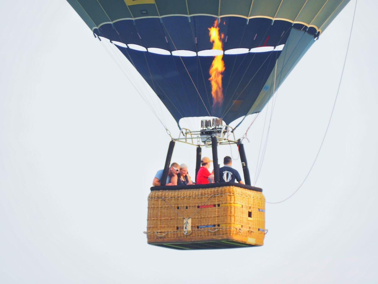 ballonfahren halle saale